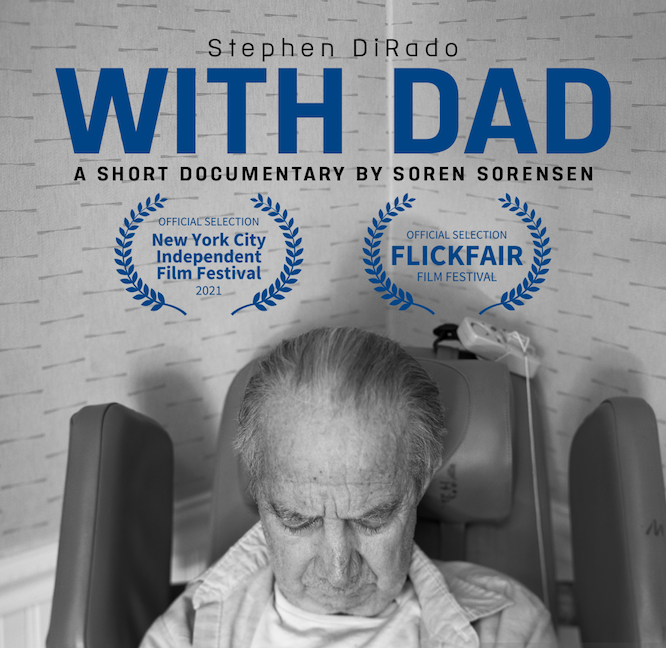 With Dad Cover Image with Film Award credits